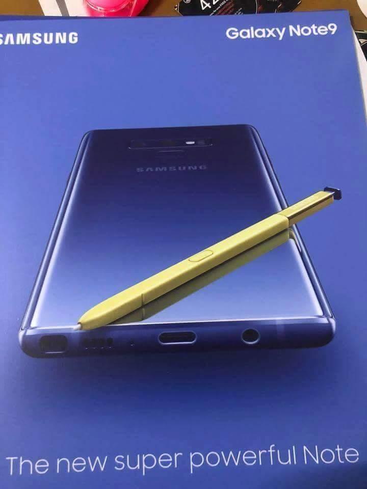 Plakat przedstawiaj±cy Galaxy Note 9