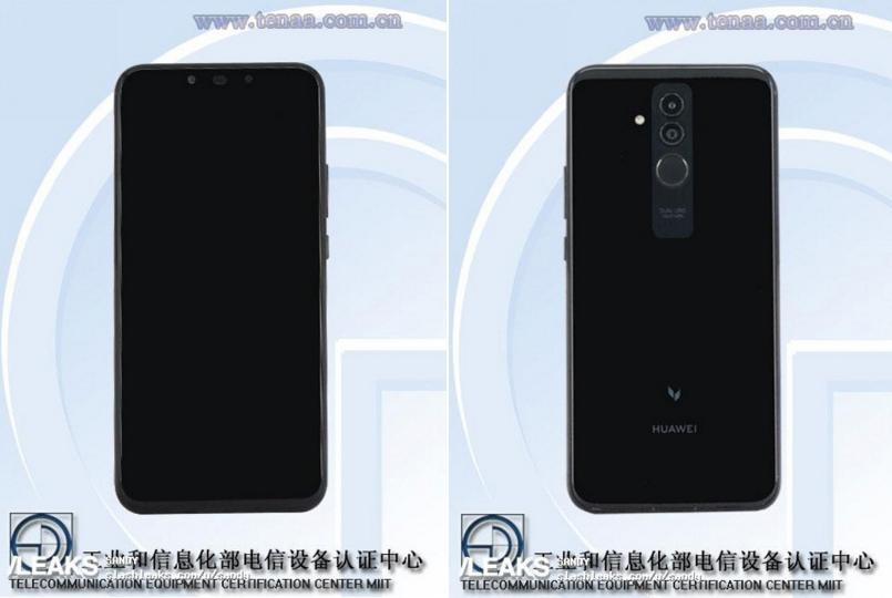 Wyciek³ certyfikat Huawei Mate 20 Lite