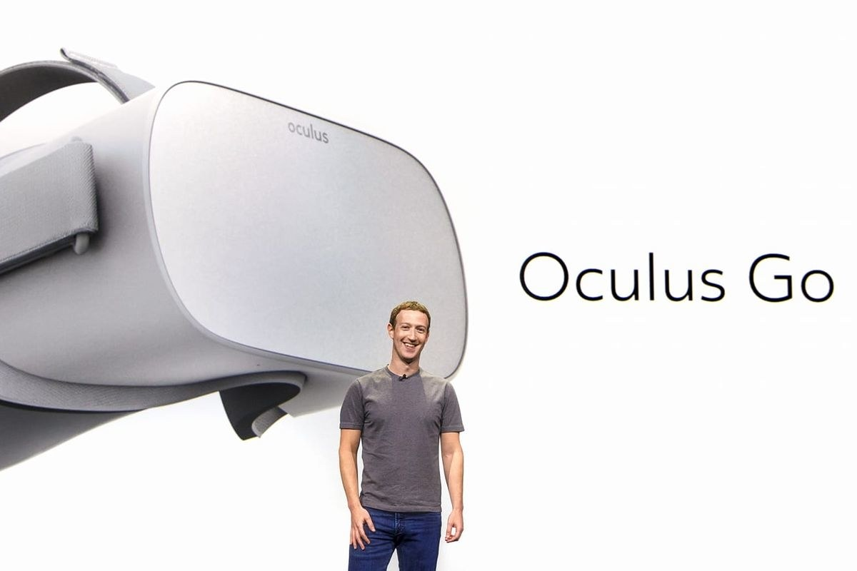 Facebook zarzuca sprzeda¿ gogli VR marki Oculus Go