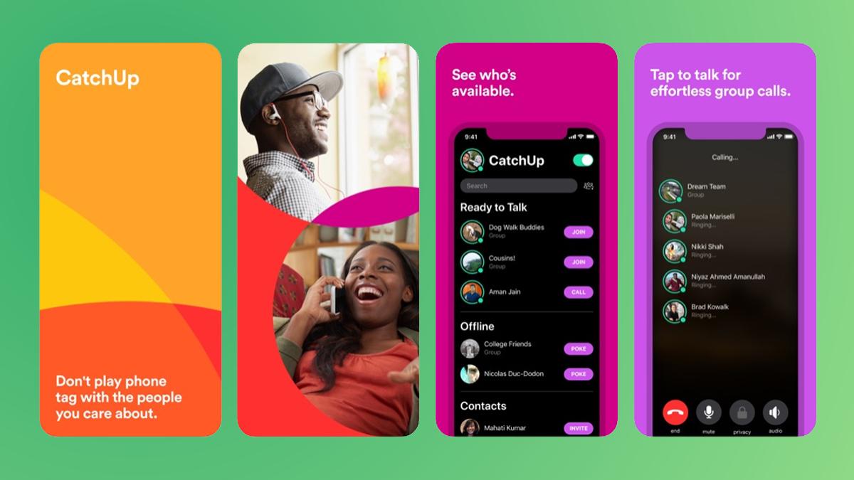 CatchUp, czyli nowa aplikacja od Facebooka. S³u¿y do nawi±zywania po³±czeñ grupowych