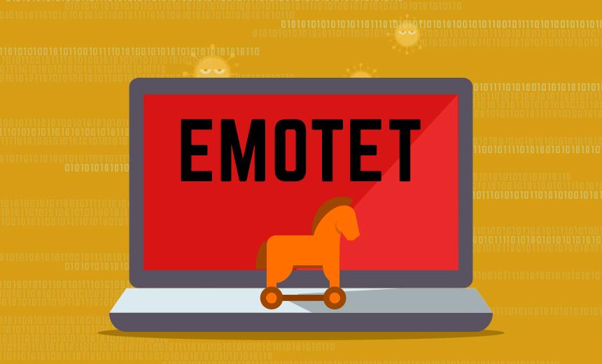 CERT ostrzega przed fa³szywymi wiadomo¶ciami e-mail zainfekowanymi wirusem Emotet