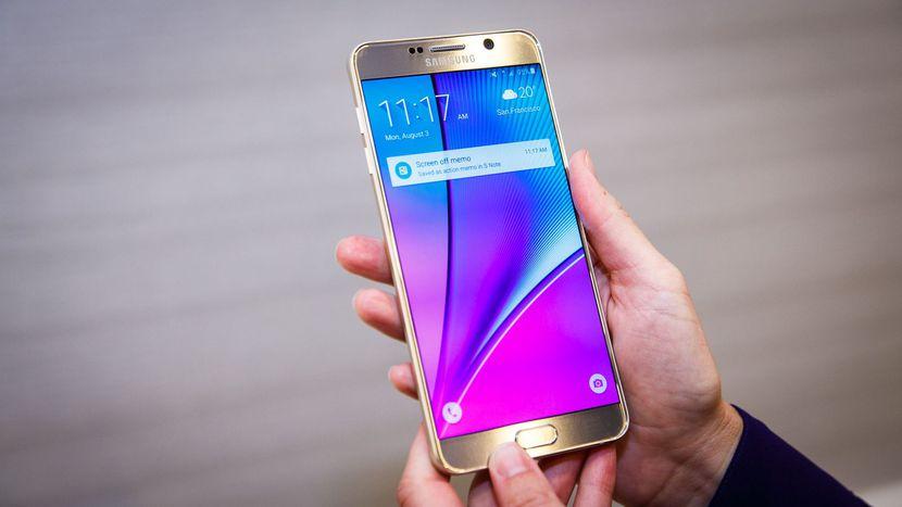 Samsung Galaxy Note 5 i Note 8 dosta³y dzi¶ styczniowe aktualizacje zabezpieczeñ
