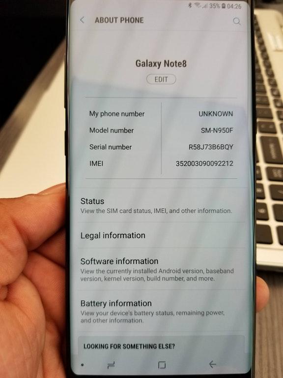 W koñcu wyszed³ update Samsung Galaxy Note 8 Oreo