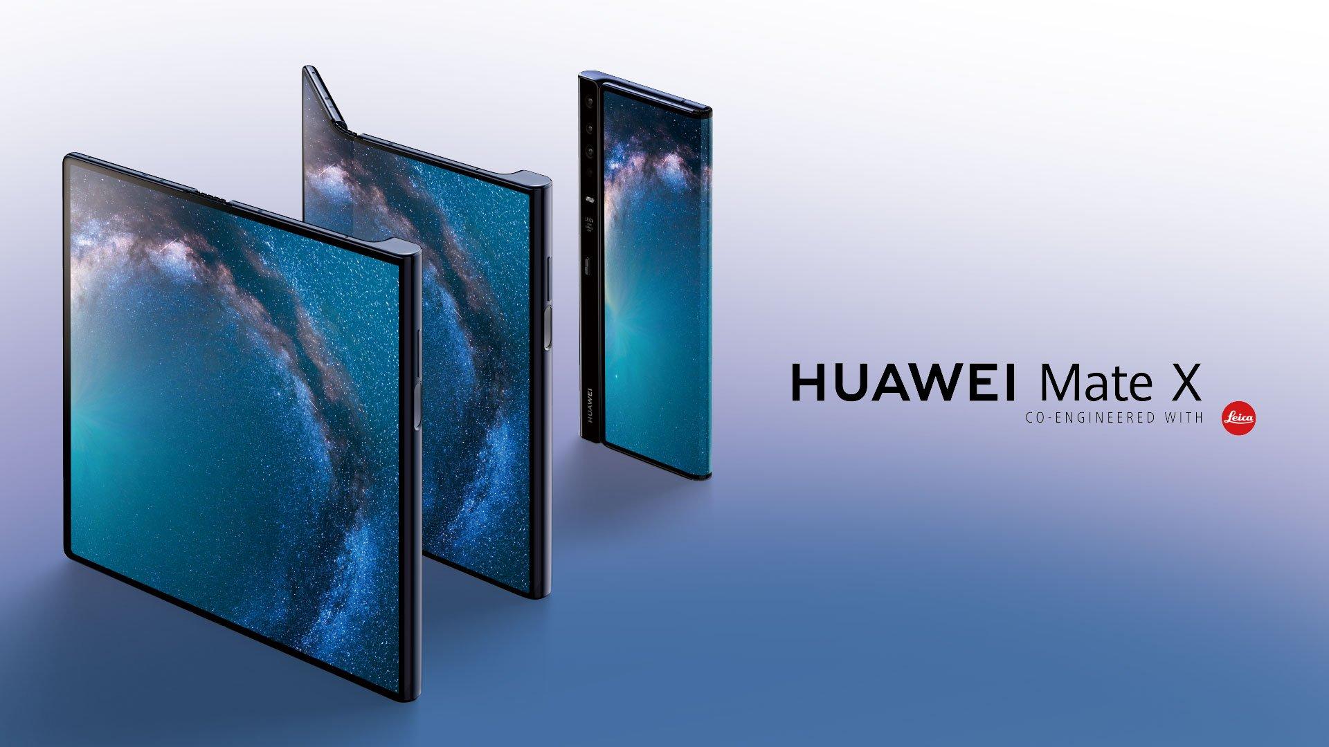 Huawei Mate X oficjalnie zaprezentowany! Suche fakty dla maj±cych ma³o czasu