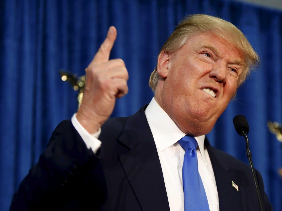 Trump napina musku³ki, chwal±c siê potêg± amerykañskiego uzbrojenia