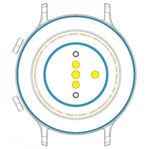 Wyciek³ fragment specyfikacji smartwatcha Realme Watch S