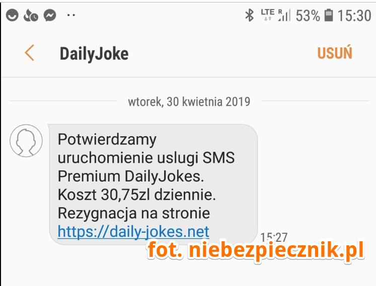 No, no: SMS-owe oszustwo tak zaawansowane, ¿e z³odziejom chcia³o siê dlañ stworzyæ ca³± stronê internetow±