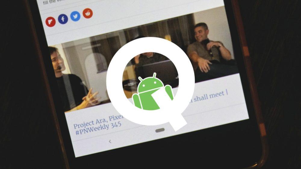 Android Q mo¿e mieæ gesty zamiast przycisku wstecz