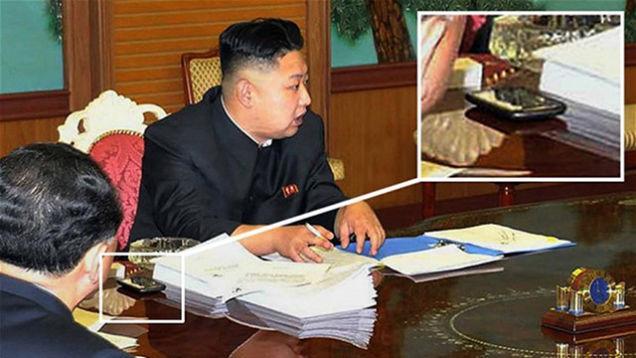 Telefon Kim Jong-Una to prawdopodobnie HTC, na wypadek gdyby kogo¶ to obchodzi³o