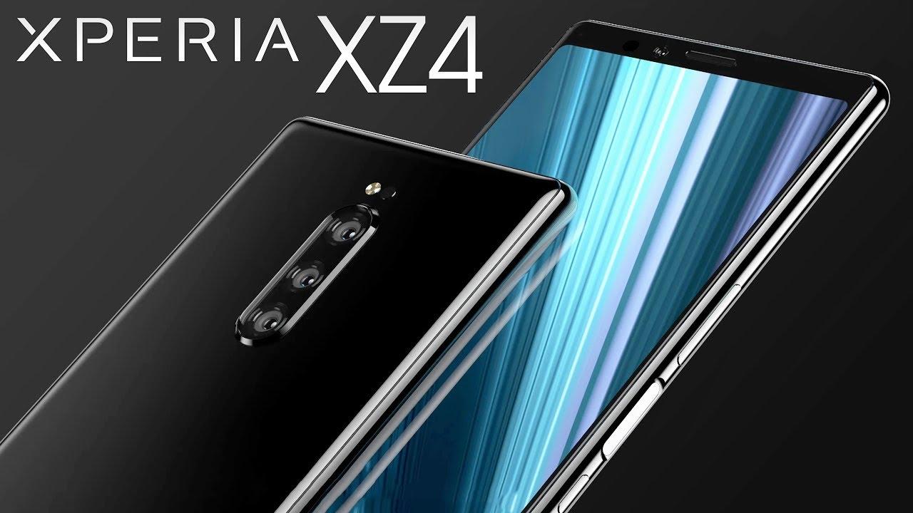 Niemal ca³kowita specyfikacja Sony Xperia XZ4