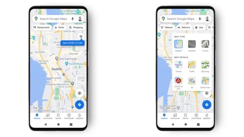 Google Maps dostaje now± funkcjê zwi±zan± z COVID-19