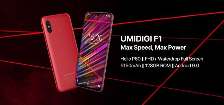 Ju¿ oficjalnie - Umidigi F1