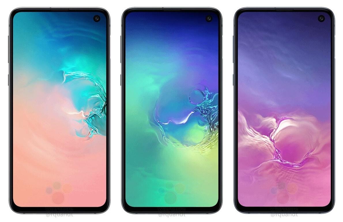 Wyciek³ render i specyfikacja Samsung Galaxy S10e