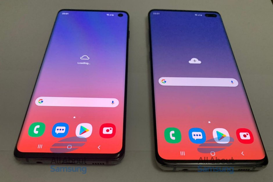 Nowe zdjêcia na ¿ywo Samsunga Galaxy S10 and Galaxy S10 Plus