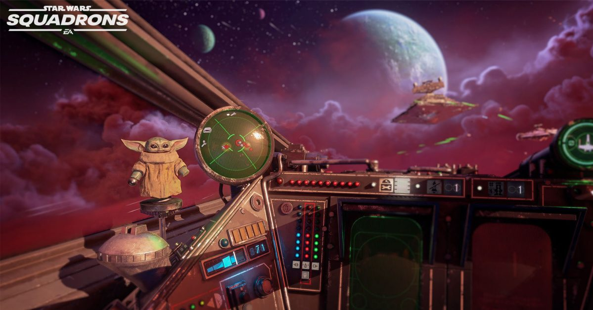 Star Wars: Squadrons otrzyma³o aktualizacjê z motywami z The Mandalorian