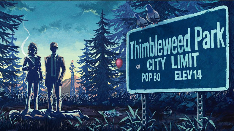 Thimbleweed Park, przygodówka w starym stylu, dostêpna za darmo w Epic Games Store