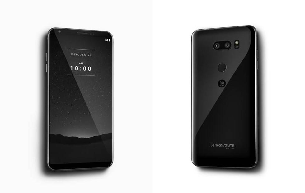 LG Signature Edition. Telefon bardzo premium. 6GB RAM, wy¶wietlacz OLED i inne