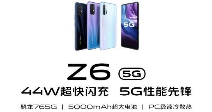 Z6 5G, czyli nowy smartfon Vivo w sklepach jeszcze w lutym