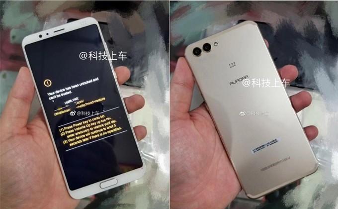 Wyciek³y zdjêcia (podobno) Huawei Nova 3