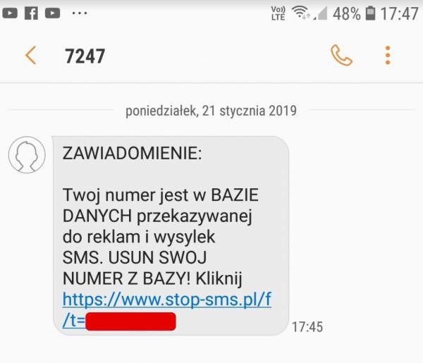 Hurra, kolejne SMS-owe oszustwo