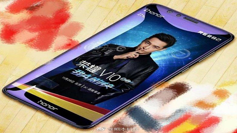 Wyciek³a grafika z Huawei Honor V10