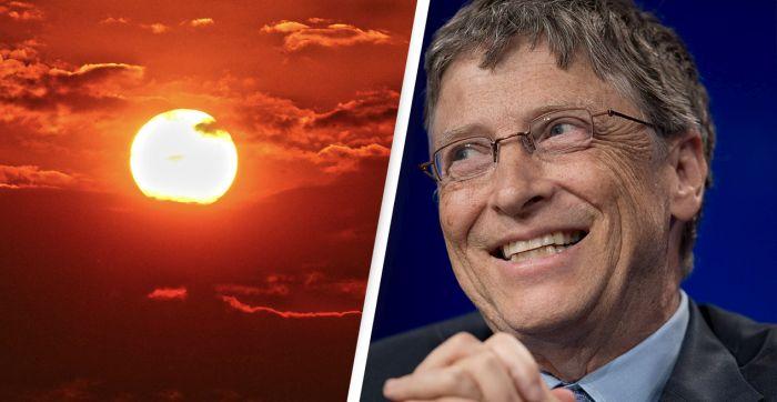 Bill Gates chce przyciemniæ s³oñce