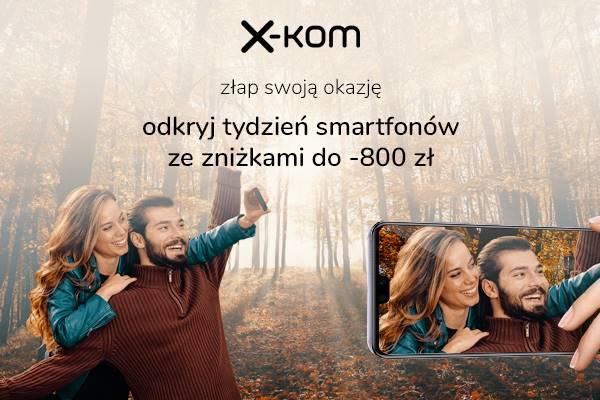 Sklep x-kom oferuje promocjê na smartfony i akcesoria
