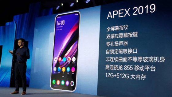 Vivo Apex 2019, czyli jak nagle mamy dwa telefony bez przycisków i portów