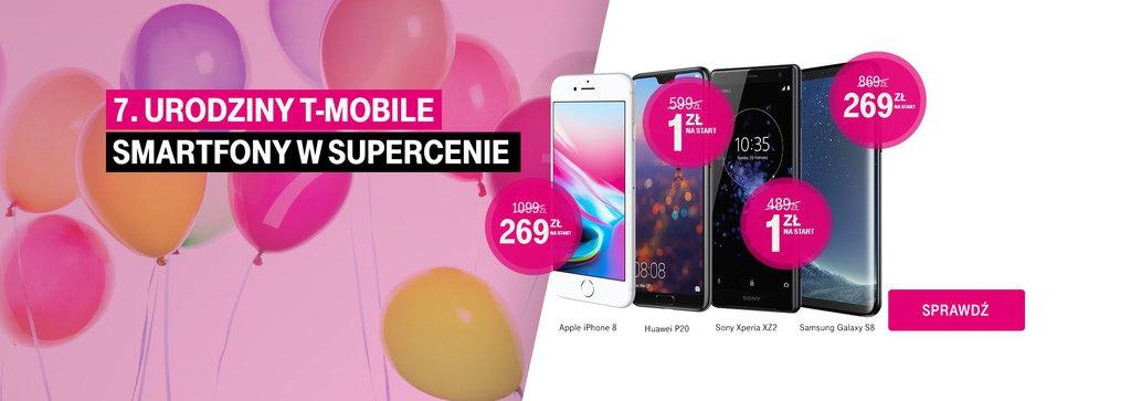 Sto lat - siódme urodziny T-Mobile. Promocje