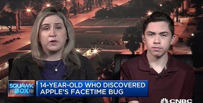 Nastolatek odkry³ du¿± lukê w FaceTime, Apple go nagrodzi