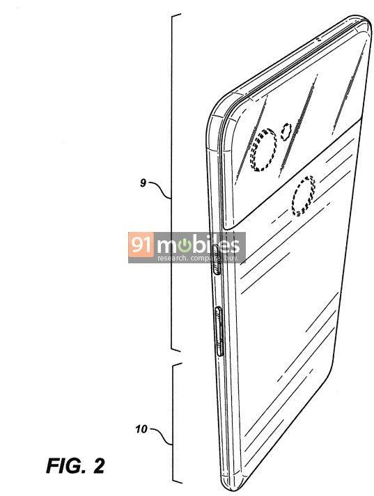 Google opatentowa³o design Pixela 4