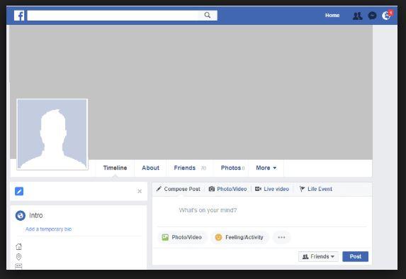 Facebooka czeka lekki tuning kosmetyczny. Zmianom mo¿e ulec ekran profilu