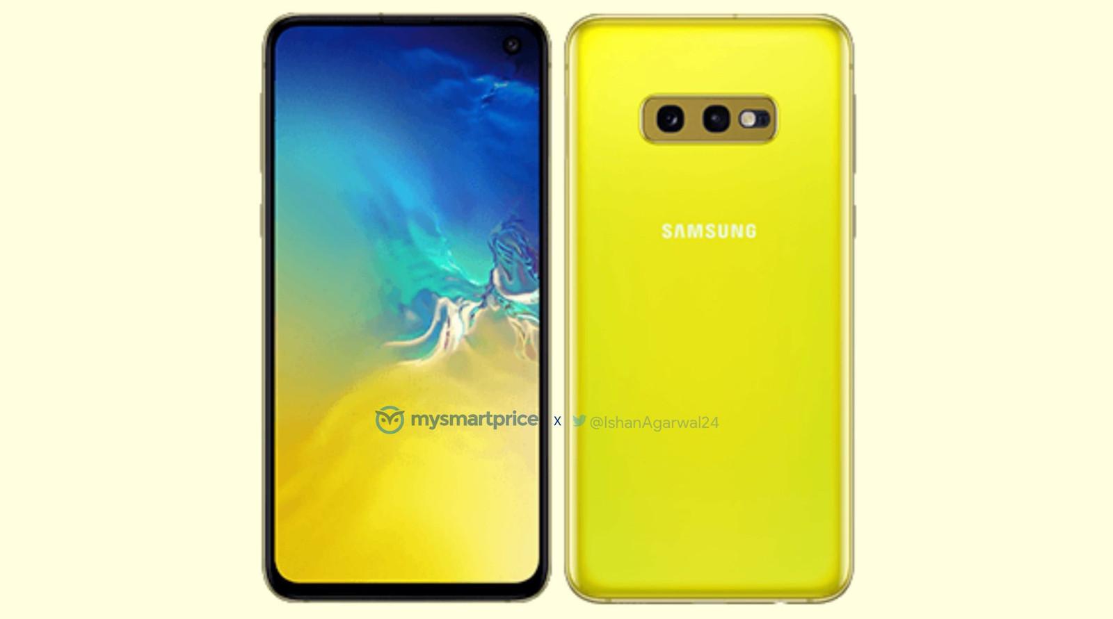 Samsung Galaxy S10e na renderze w nowym kolorze. Super