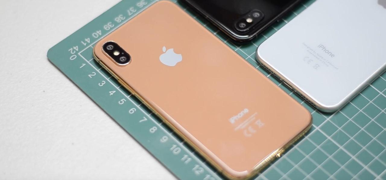 Bêdzie nowy wariant kolorystyczny iPhone X
