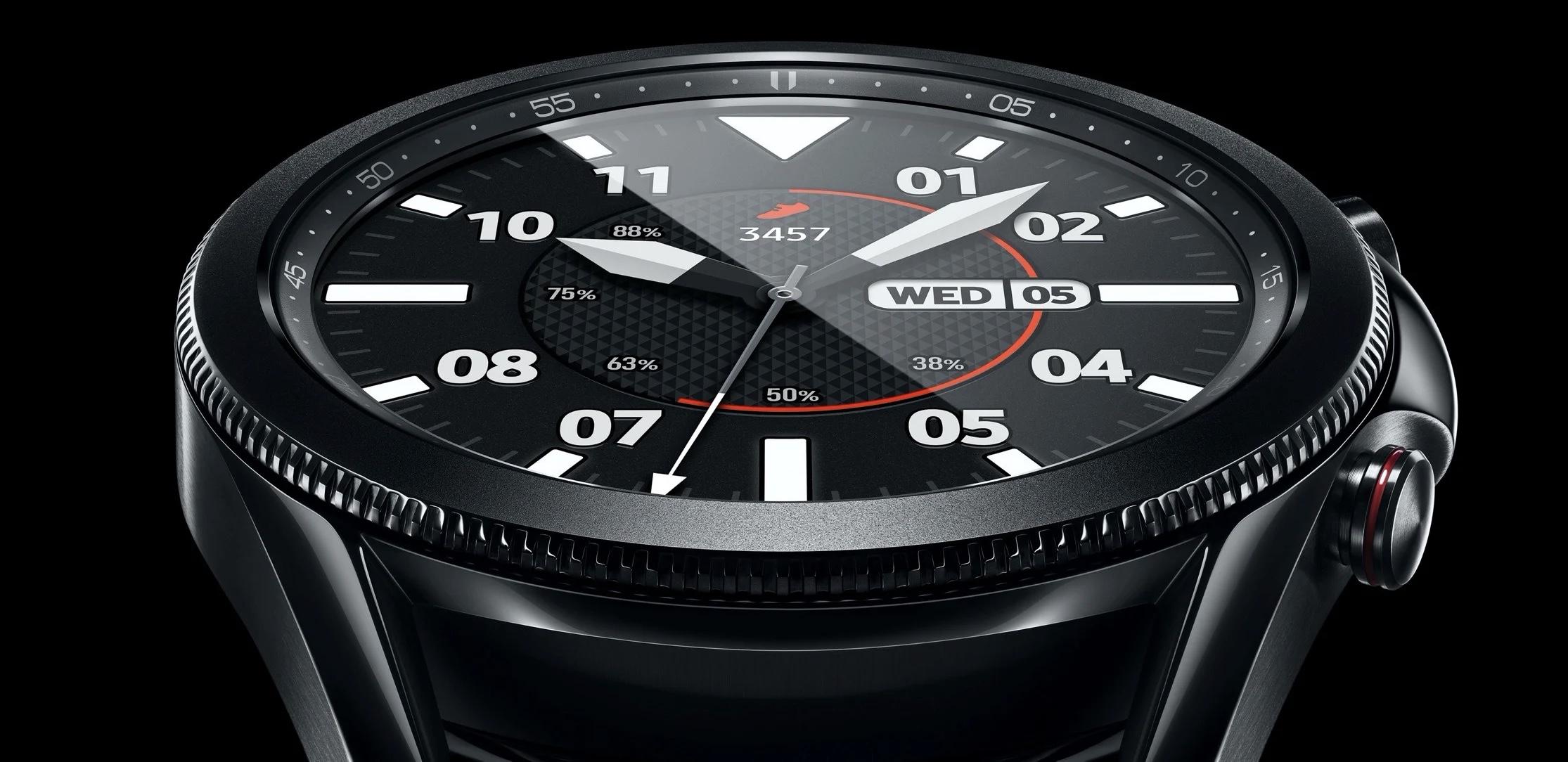 Samsung Galaxy Watch 3 na promocyjnym wideo