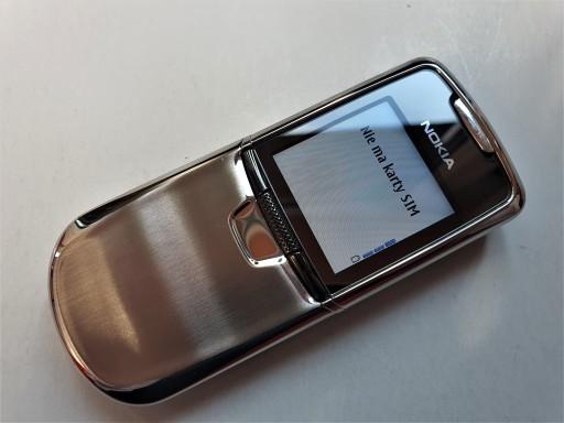 Nokia 8000, czê¶æ specyfikacji