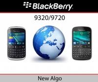 Simlock odblokowanie kodem telefonów Blackberry 9320 9720 nowe Algo