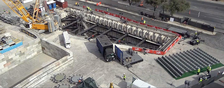 Boring Company Elona Muska ma niebawem otworzyæ specjalny tunel dla samochodów pod Las Vegas