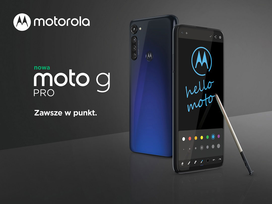 moto g pro, czyli smartfon Motoroli z rysikiem