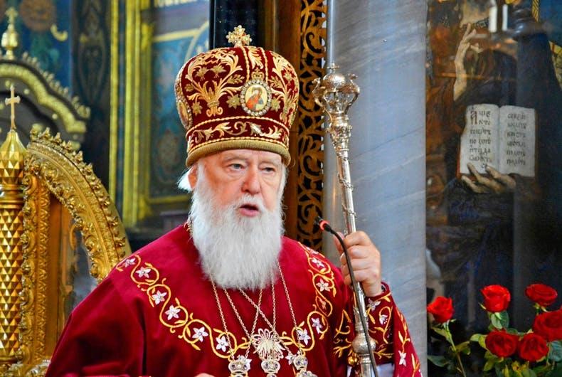 """""""Nierychliwy, ale sprawiedliwy"""". Ukraiñski patriarcha wieszcz±cy, ¿e koronawirus to kara za grzechy ludzko¶ci, sam zachorowa³"""