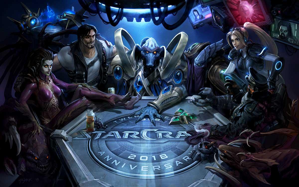 Blizzard ¶wiêtuje 10-lecie StarCraft II now± aktualizacj±