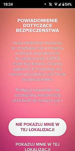 Polska jest krajem tak ch***wym, ¿e Tinder ostrzega przed nim swoich u¿ytkowników