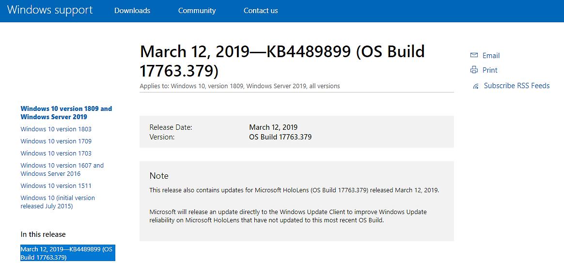 Wysz³a marcowa aktualizacja Windows 10. Mo¿liwe problemy