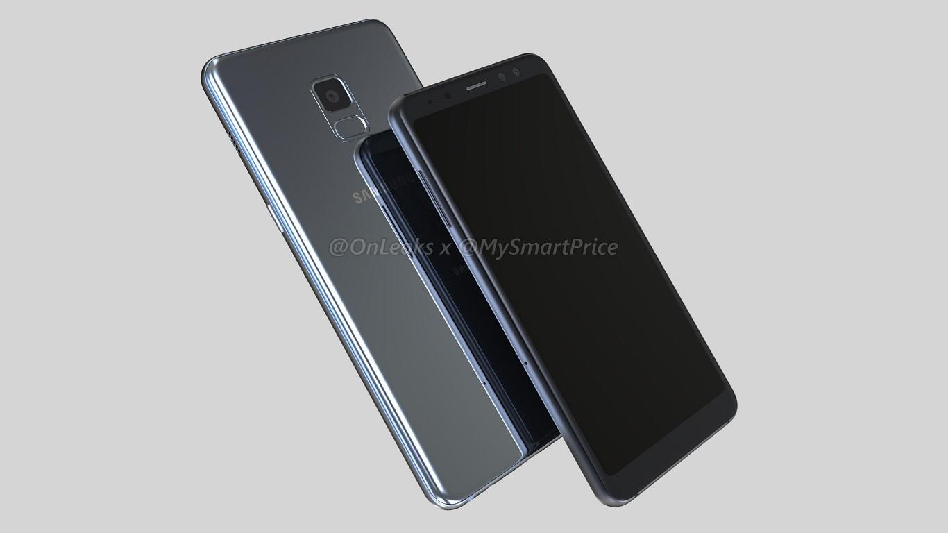 Wyciek³y trójwymiarowe rendery Samsung Galaxy A5 (2018) i A7 (2018)
