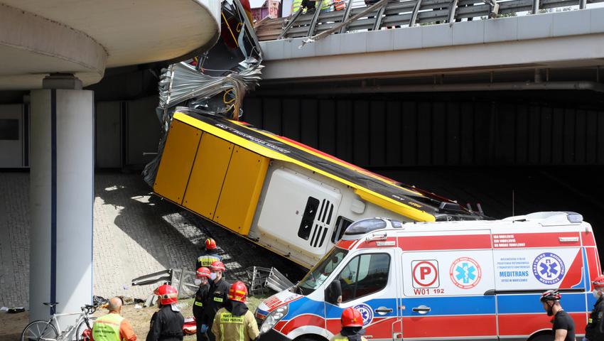 Kolejne informacje na temat kierowcy autobusu, który spowodowa³ tragiczn± kraksê w Warszawie