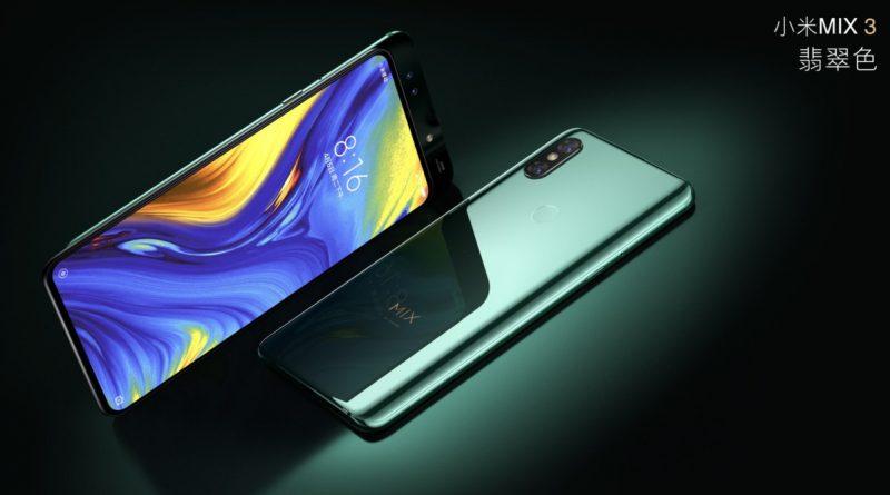 Xiaomi Mi Mix 3 w Polsce ju¿ w pi±tek