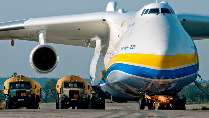 An-225 Mrija odlecia³ z Polski. Odlot obejrzycie na udostêpnionym nagraniu