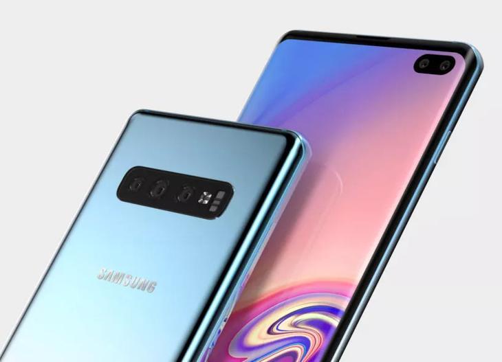 Wyciek³y rendery Samsunga Galaxy S10 Plus