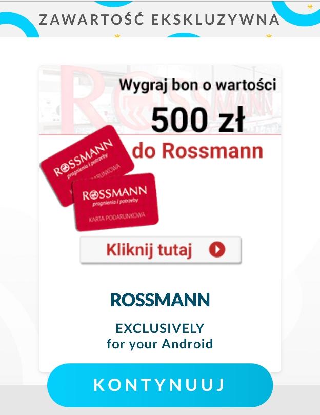 Znowu próbuj± was wykiwaæ, czyli uwa¿ajcie na fa³szywe bony Rossmanna