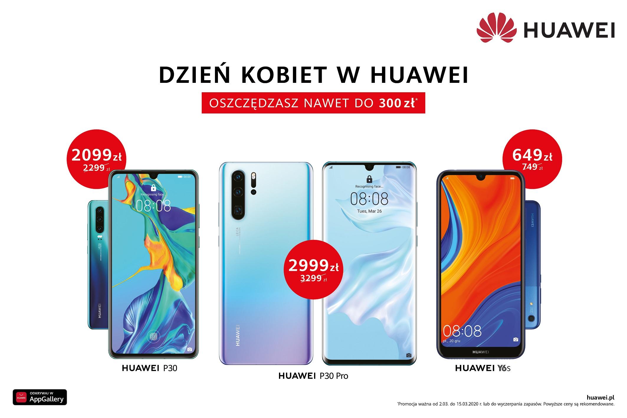 Huawei ¶wiêtuje Dzieñ Kobiet tak samo, jak wszystkie inne ¶wiêta